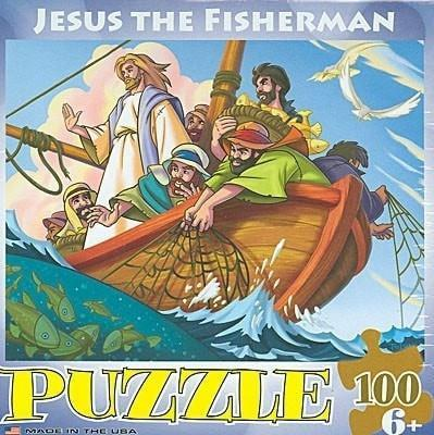'Jesus the Fisherman' Puzzle-Christian Puzzles-SonGear Marketplace-SonGear