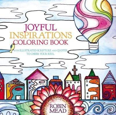 Joyful Places, Happy Faces Coloring Book: With Illustrated Scripture and Quotes to Cheer Your Soul-Christian Books-SonGear Marketplace-SonGear