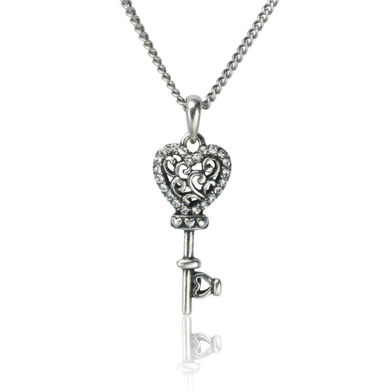 Key to My Heart Necklace-Christian Necklaces-Halle Joy-SonGear