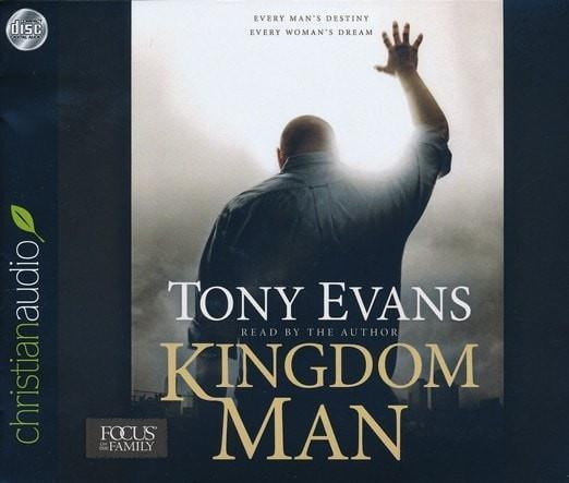 Kingdom Man: Every Man's Destiny, Every Woman's Dream - unabridged audio book on CD-Christian Music & Video-SonGear Marketplace-SonGear