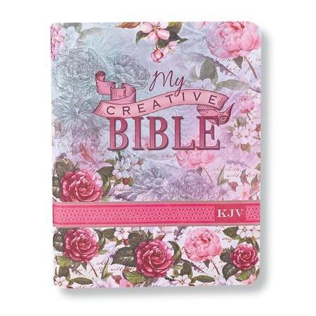 KJV My Creative Bible, Silky Floral Flexcover-Christian Bibles-SonGear Marketplace-SonGear