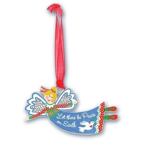 Let there be Peace Angel Ornament-Christian Holiday Ornaments-SonGear Marketplace-SonGear