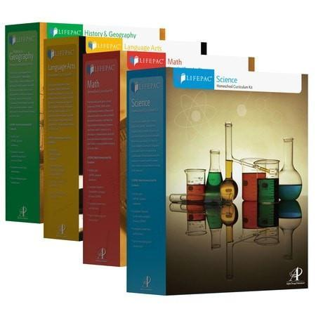 LIFEPAC Grade 2 Core 4-Subject Set-Christian Books-SonGear Marketplace-SonGear