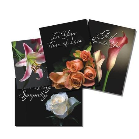 Loving Memory (NIV) Box of 12 Assorted Sympathy Cards-Christian Greeting Cards-SonGear Marketplace-SonGear