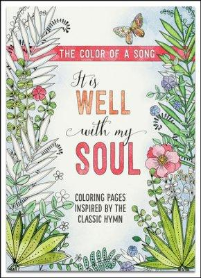 It's Well With My Soul Coloring Books for Adults