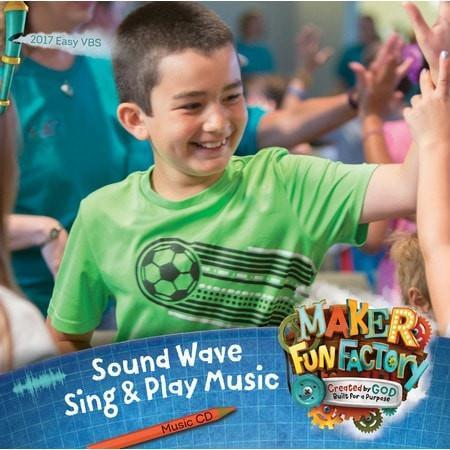 Maker Fun Factory VBS: Sound Wave: Sing & Play Music CD-Christian Religious Items-SonGear Marketplace-SonGear
