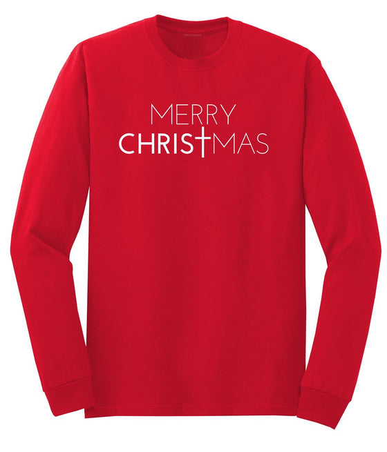 Merry Christmas Men's Long Sleeve