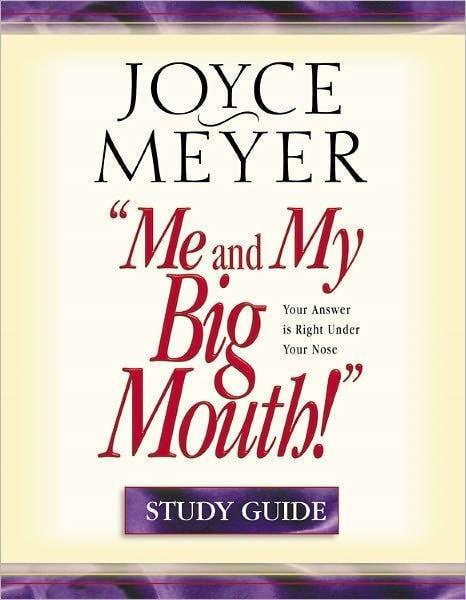 Me And My Big Mouth Study Guide-Christian Books-SonGear Marketplace-SonGear