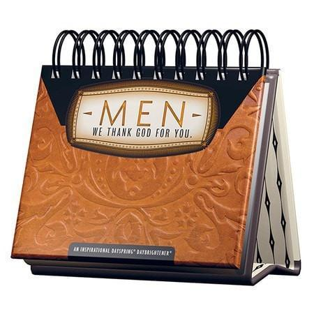 Men, We Thank God for You Daybrightener-Christian Calendars, Organizers & Planners-SonGear Marketplace-SonGear