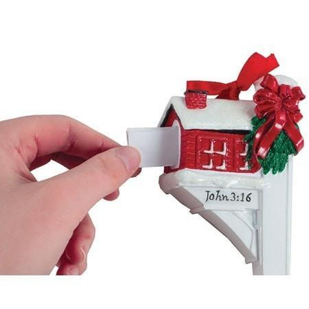 Message From God Mailbox Ornament-Christian Holiday Ornaments-SonGear Marketplace-SonGear