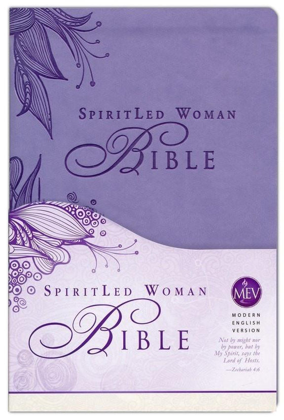MEV SpiritLed Woman Bible, Imitation Leather, Lavender-Christian Bibles-SonGear Marketplace-SonGear