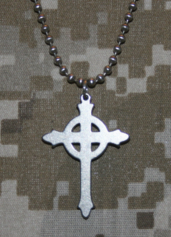 Military Issue Presbyterian Cross-Christian Necklaces-GI Jewelry-SonGear