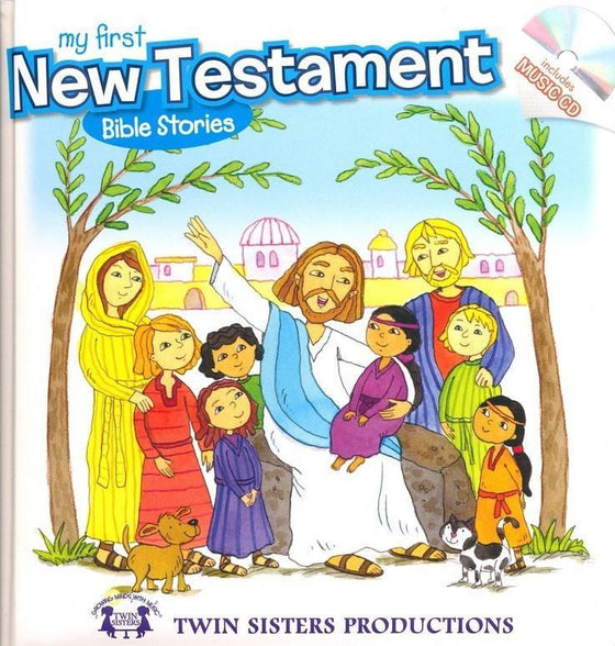 My First New Testament Bible Stories Board Book w/CD (Lets Share A Story)-Christian Music-SonGear Marketplace-SonGear