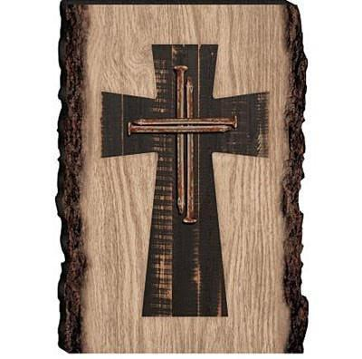 Nail Cross Wood Sign-Christian Home Decor-SonGear Marketplace-SonGear