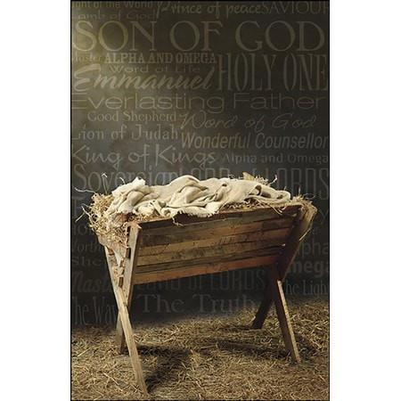 Names of Jesus Bulletins, 50-Christian Church Supplies-SonGear Marketplace-SonGear