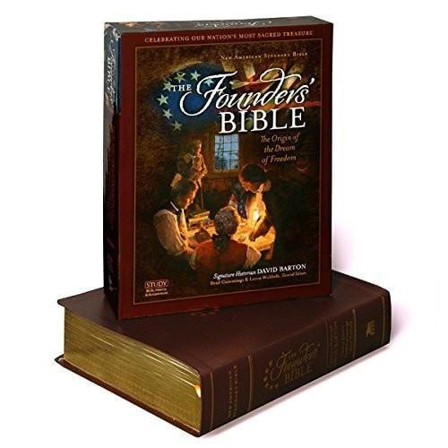 NAS Founders Bible-Brown Genuine Leather-Christian Bibles-SonGear Marketplace-SonGear