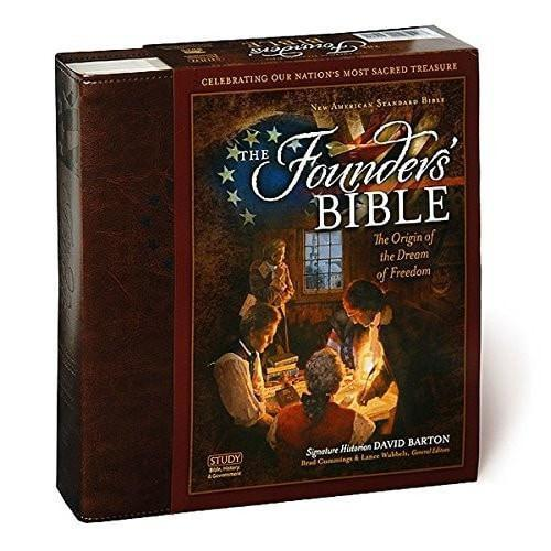 NAS Founders Bible-Brown Leathersoft-Christian Bibles-SonGear Marketplace-SonGear