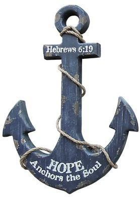 Nautical, Anchor Wall Art-Christian Home Decor-SonGear Marketplace-SonGear