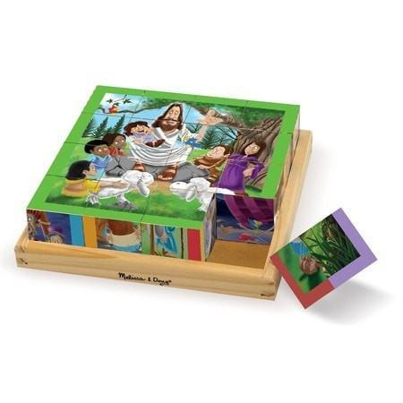 New Testament Cube Puzzle-Christian Puzzles-SonGear Marketplace-SonGear