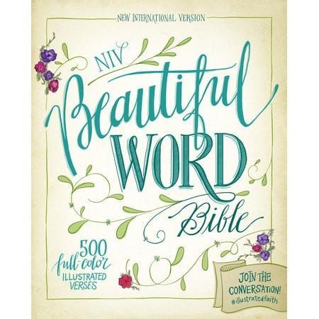 NIV Beautiful Word Bible, hardcover-Christian Bibles-SonGear Marketplace-SonGear