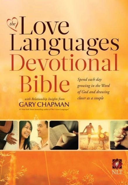NLT Love Languages Devotional Bible, hardcover-Christian Books-SonGear Marketplace-SonGear
