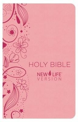 NLV Holy Bible; Pink, Imitation Leather-Christian Bibles-SonGear Marketplace-SonGear