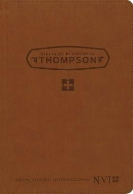 NVI Biblia de Referencia Thompson, NVI Thompson Chain Reference Bible, Bonded Leather, Tan-Christian Bibles-SonGear Marketplace-SonGear