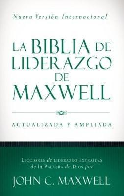 NVI La Biblia de liderazgo de Maxwell, Leather, imitation-Christian Bibles-SonGear Marketplace-SonGear