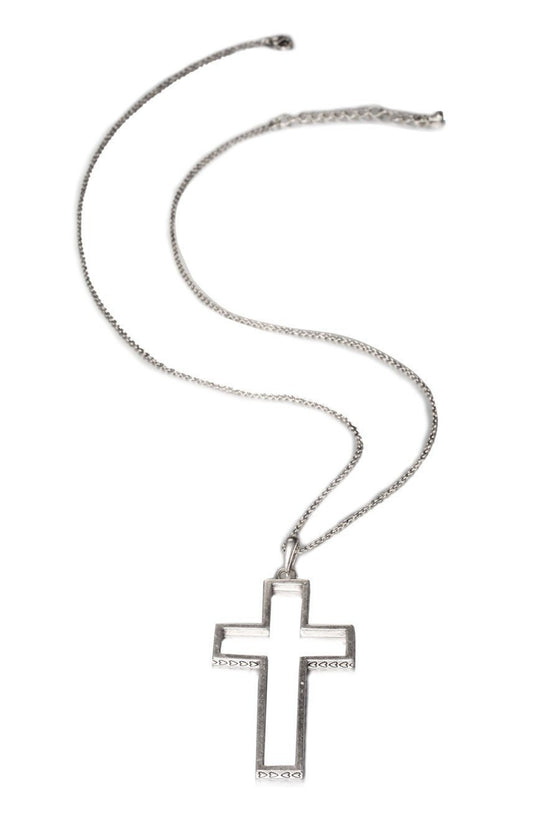 Open Your Heart Cross Necklace-Christian Necklaces-Halle Joy-SonGear
