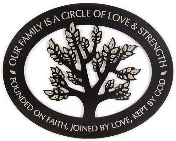 Our Family Stencil Wall Art-Christian Home Decor-SonGear Marketplace-SonGear