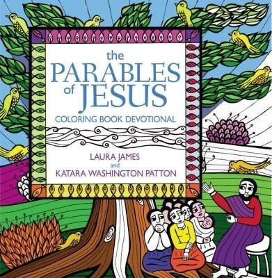 Parables Of Jesus Coloring Book Devotional-Christian Books-SonGear Marketplace-SonGear