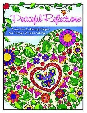 Peaceful Reflections Coloring Book for Adults-Christian Books-SonGear Marketplace-SonGear