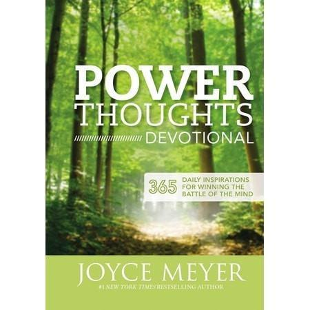 power thoughts devotional 365 daily inspirations for