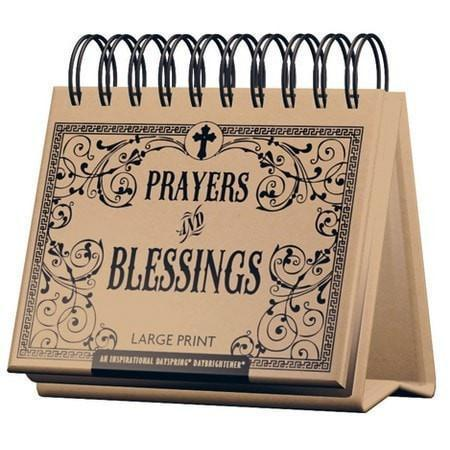 Prayers and Blessings Daybrightener, Large Print-Christian Calendars, Organizers & Planners-SonGear Marketplace-SonGear