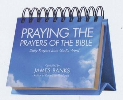 Praying the Prayers of the Bible Perpetual Calendar: Daily Prayers from God's Word-Christian Calendars, Organizers & Planners-SonGear Marketplace-SonGear