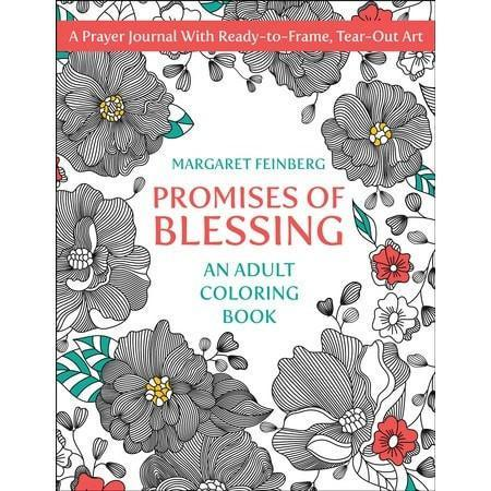 Promises of Blessing: An Adult Coloring Book-Christian Books-SonGear Marketplace-SonGear