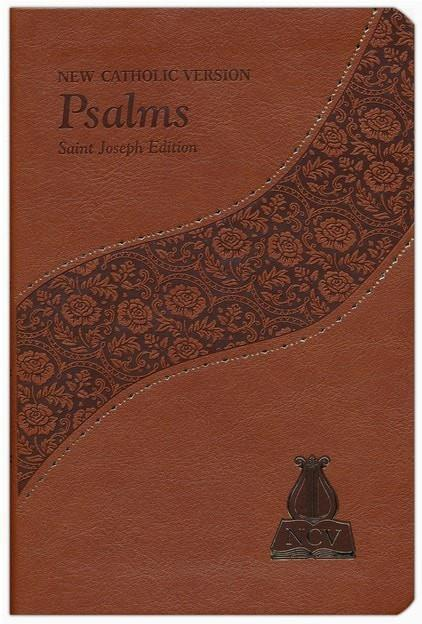 Psalms: New Catholic Version, Saint Joseph Edition, Brown Bonded Leather Brown-Christian Bibles-SonGear Marketplace-SonGear