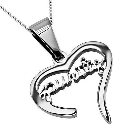 'Purity' - Handwriting Heart Necklace-Christian Necklaces-Spirit and Truth-SonGear
