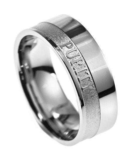 'Purity' - Men's Original Scripture Band-Christian Rings-Spirit and Truth-SGN2380720490-SonGear