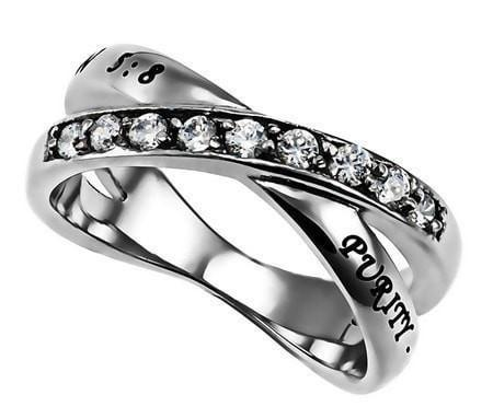 'Purity' - Women's Radiance Ring-Christian Rings-Spirit and Truth-SGN2134141805-SonGear