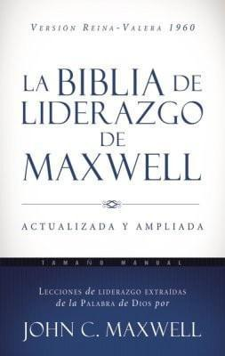 RVR60 La Biblia de liderazgo de Maxwell - Tama&#241o manual, Leather, imitation-Christian Bibles-SonGear Marketplace-SonGear