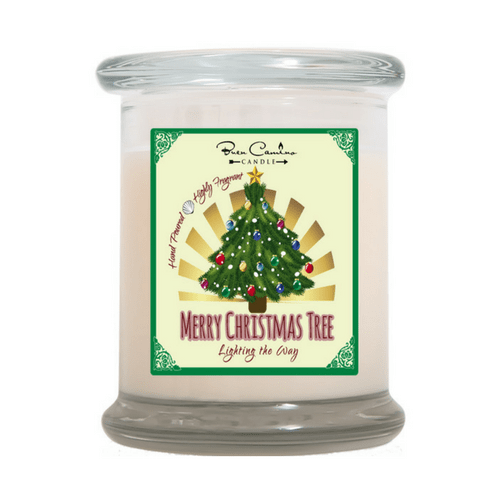Scented Candle - Uplifting Fragrance - Merry Christmas Tree-Christian Candles-Classic City Gift-SonGear