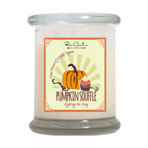 Scented Candle - Uplifting Fragrance - Pumpkin Souffle-Christian Candles-Classic City Gift-SonGear