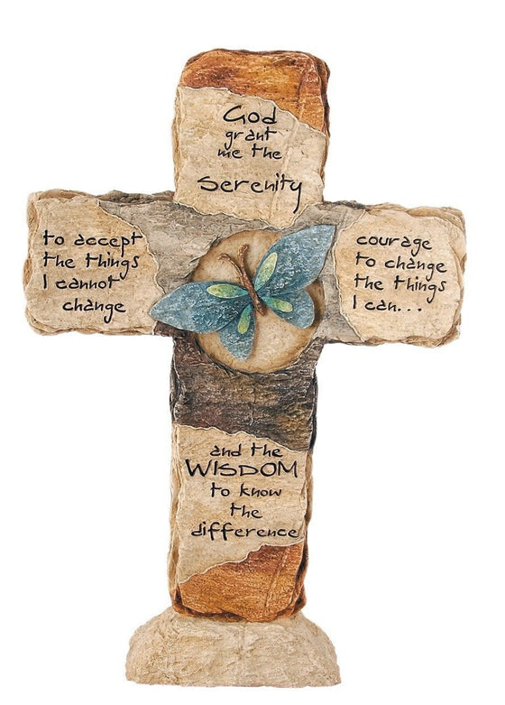 Serenity Prayer Cross-Christian Home Decor-SonGear Marketplace-SonGear