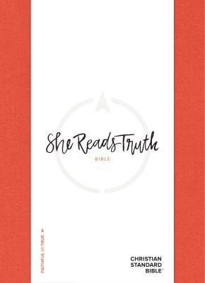 She Reads Truth Bible, Poppy Linen, Thumb-Indexed-Christian Bibles-SonGear Marketplace-SonGear