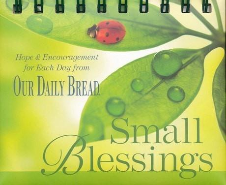Small Blessings Perpetual Calendar: Hope and Encouragement for Each Day from Our Daily Bread-Christian Calendars, Organizers & Planners-SonGear Marketplace-SonGear