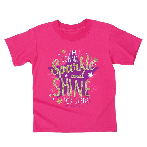 Sparkle and Shine Kids T-Shirt-Christian T-Shirts-Kerusso-KDZ1872SM-SonGear