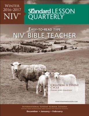 Standard Lesson Quarterly: NIV® Bible Student, Spring 2017-Christian Books-SonGear Marketplace-SonGear
