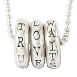 Sterling Silver True Love Waits Necklace - Rings-Christian Necklaces-Bob Siemon-SonGear