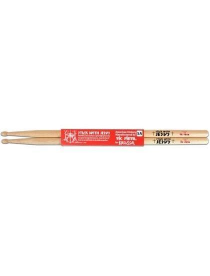 Stick With Jesus Hickory Christian Drumsticks - Natural-Christian Drum Sticks-Kerusso-SonGear